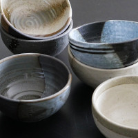 Range of Japanese bowls