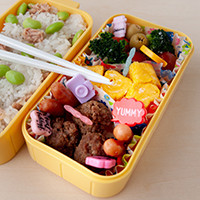 Take-out Japanese bento boxes