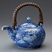 Japanese traditional teapots